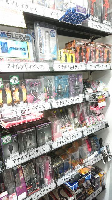 信長書店梅田東通店の大人のおもちゃ・アナルグッズは3階にて販売中です