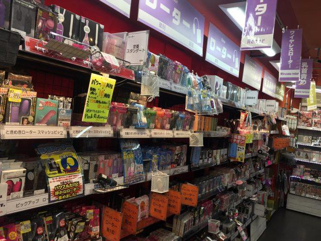 信長書店難波店のアダルトグッズ・大人のおもちゃ売場の品揃えアイテムが二倍に!