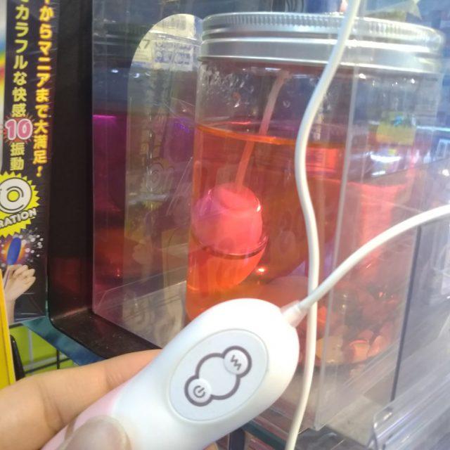 信長書店のアダルトグッズ・大人のおもちゃ売場 水洗いしやすいローター