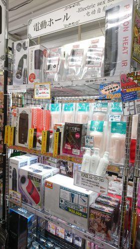アダルトグッズ、大人のおもちゃ、LOVE TOYS、電動ホールは信長書店梅田東通店2階にて販売中です