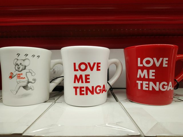 「LOVE ME TENGA マグカップ」は信長書店のLOVE TOYS (アダルトグッズ)・大人のおもちゃ売場2F「TENGASHOP KOBE」で展開中!